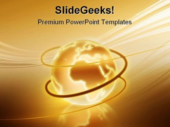 Global World Globe PowerPoint Templates And PowerPoint Backgrounds 0711