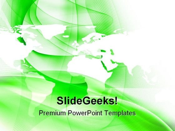 Globalization Abstract PowerPoint Templates And PowerPoint Backgrounds 0611