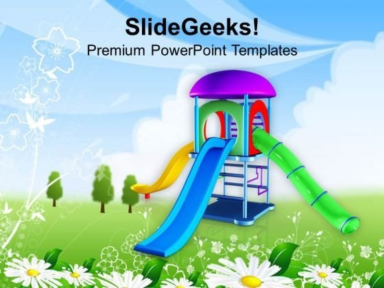 Go_and_play_in_playground_this_summer_powerpoint_templates_ppt_backgrounds_for_slides_0613_title