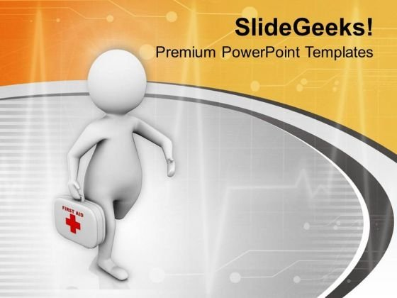 Go For Health Check Up PowerPoint Templates Ppt Backgrounds For Slides 0613