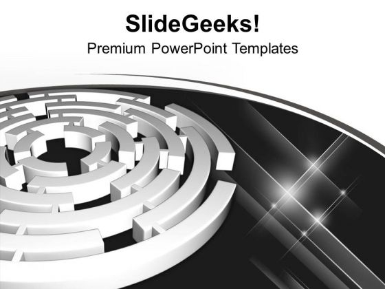 Go For Right Way In Business PowerPoint Templates Ppt Backgrounds For Slides 0513