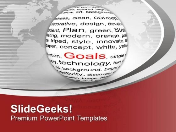 Goal Achievement Background Theme PowerPoint Templates Ppt Backgrounds For Slides 0413