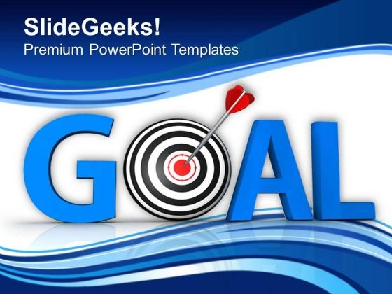 Goal And Target Achieved Business PowerPoint Templates Ppt Backgrounds For Slides 0413