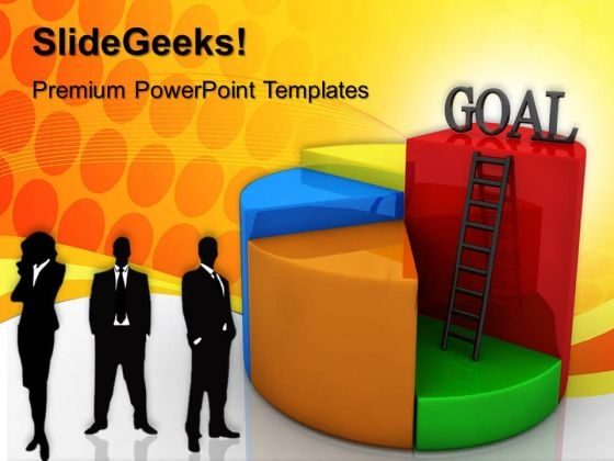 Goal Chart Concept Success PowerPoint Templates And PowerPoint Themes 0612