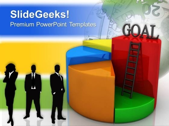 Goal Chart Concept Success PowerPoint Templates And PowerPoint Themes 0712