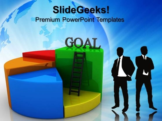Goal Pie Chart Concept Finance Business PowerPoint Templates And PowerPoint Themes 0612