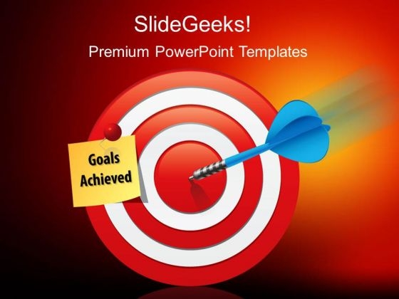 Goals Achieved Success PowerPoint Templates And PowerPoint Themes 0212