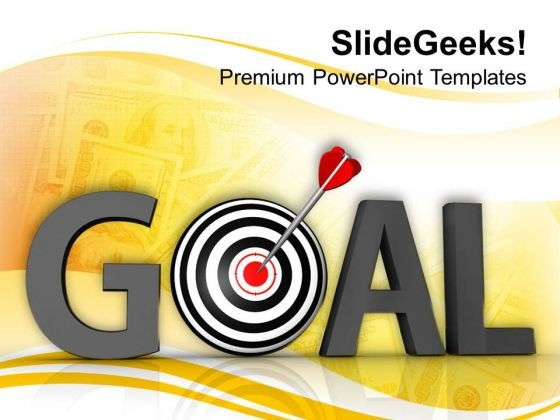 Goals And Target Achieved Business Success PowerPoint Templates Ppt Backgrounds For Slides 0413