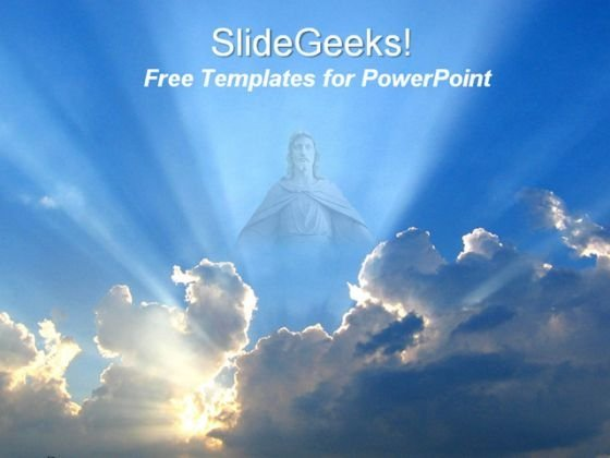 Jesus Religion PowerPoint Template