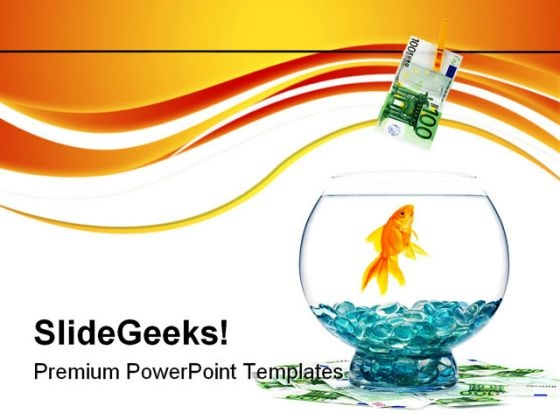 Goldfish Animals PowerPoint Templates And PowerPoint Backgrounds 0511