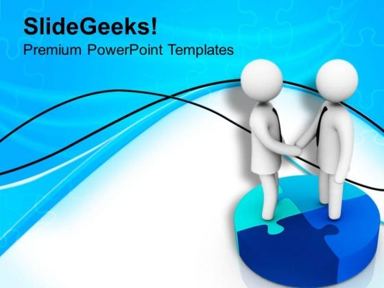 Good Business Relations Are Important PowerPoint Templates Ppt Backgrounds For Slides 0813