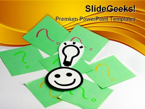 Good Idea01 Business PowerPoint Templates And PowerPoint Backgrounds 0211