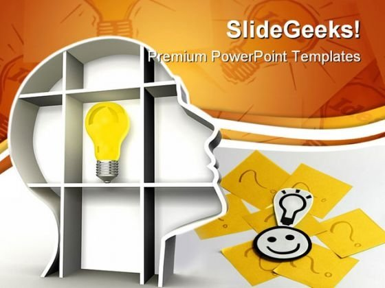 Good Idea Business PowerPoint Themes And PowerPoint Slides 0211