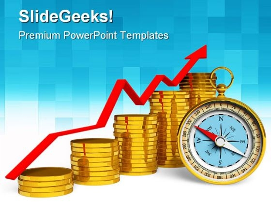 Graph Finance PowerPoint Themes And PowerPoint Slides 0511