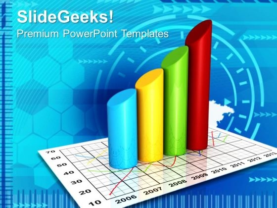 Graph Of Products Sale Business PowerPoint Templates And PowerPoint Themes 0912