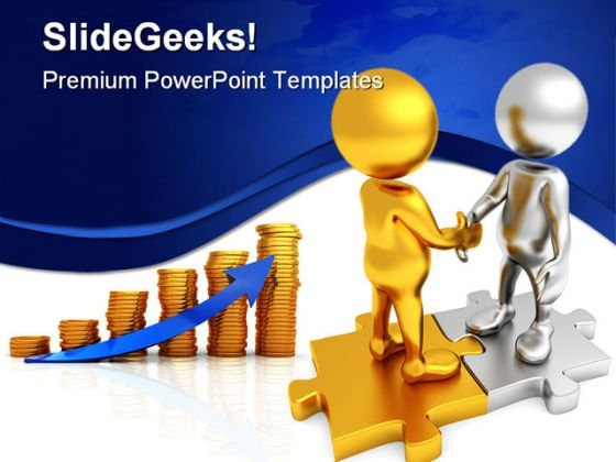 Great Deal Business PowerPoint Template 0910