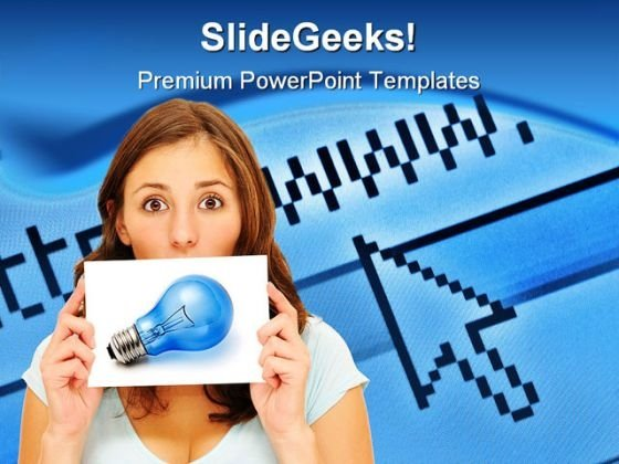 Great Idea Internet PowerPoint Backgrounds And Templates 0111