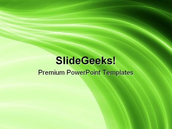Green Background Abstract PowerPoint Templates And PowerPoint Backgrounds 0411