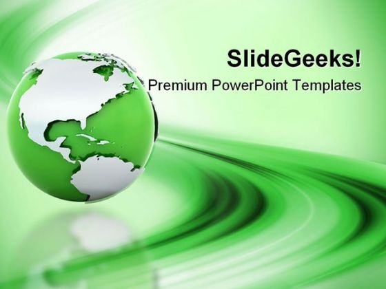 Green Earth Abstract PowerPoint Themes And PowerPoint Slides 0311