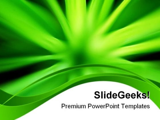 Green Energy Abstract PowerPoint Templates And PowerPoint Backgrounds 0611