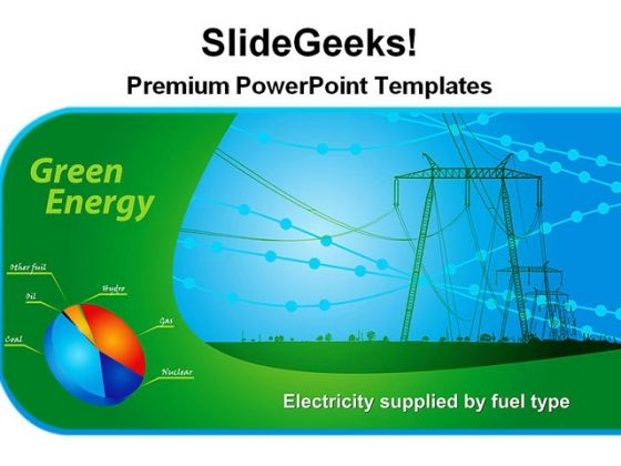 Green Energy Plant Technology PowerPoint Themes And PowerPoint Slides 0311