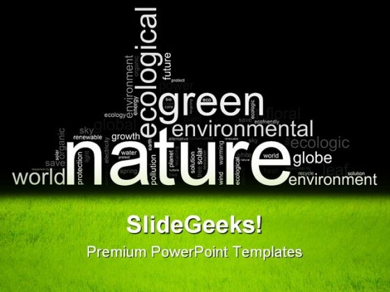 Green Environmental Nature PowerPoint Templates And PowerPoint Backgrounds 0611