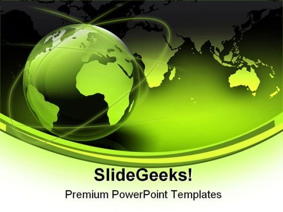 green_globe_map_earth_powerpoint_template_0910_title