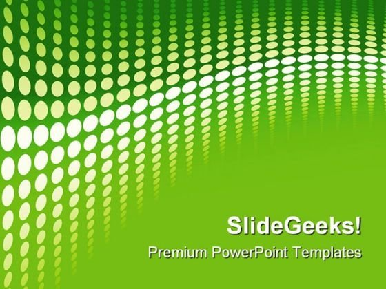 Green Halftone Background PowerPoint Templates And PowerPoint Backgrounds 0511