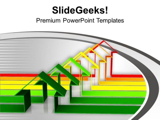 Green Home Energy Efficiency PowerPoint Templates Ppt Backgrounds For Slides 0113