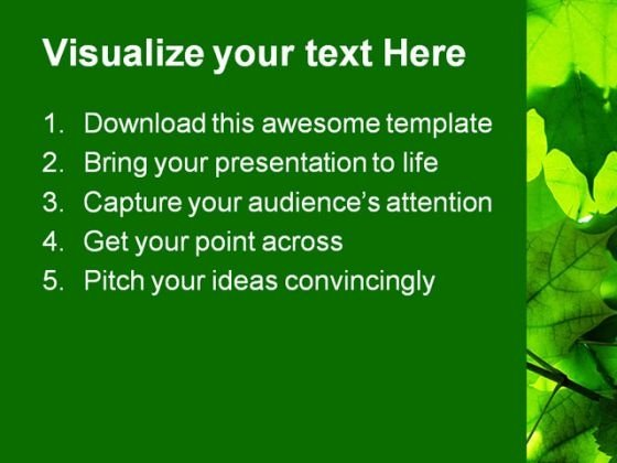 green_leaves_nature_powerpoint_template_1110_text