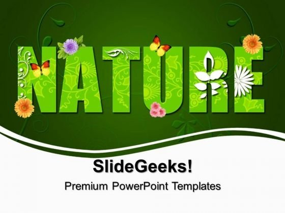 Green Nature Environment PowerPoint Templates And PowerPoint Themes 0312
