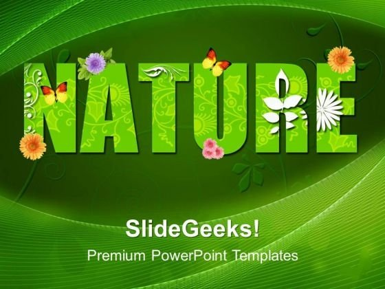 Green Nature Environment PowerPoint Templates And PowerPoint Themes 0412