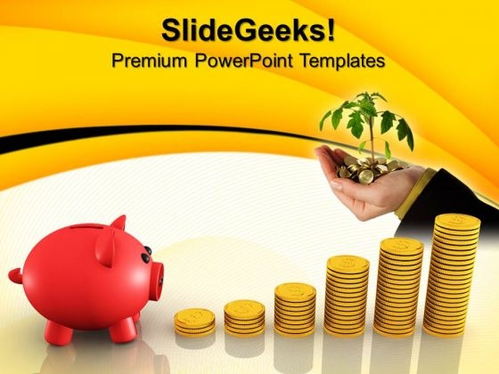 Growing Investment Future PowerPoint Templates And PowerPoint Themes 0912
