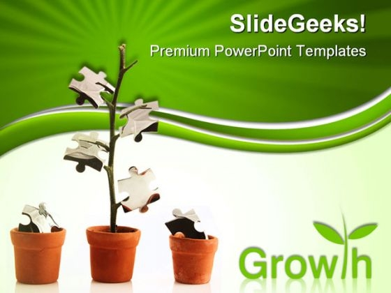 Growth Business PowerPoint Themes And PowerPoint Slides 0511