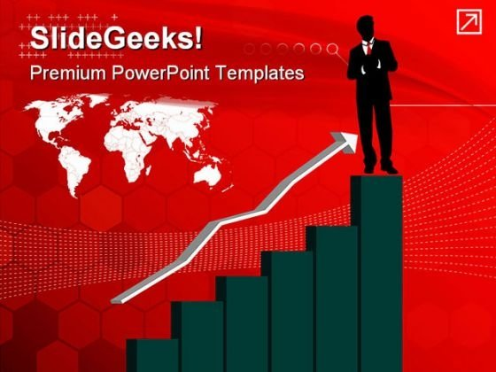 Growth Chart Of Investments Finance PowerPoint Themes And PowerPoint Slides 0511