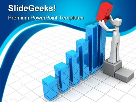 Growth Graph Finance PowerPoint Themes And PowerPoint Slides 0511