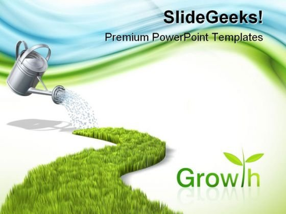 Growth Nature PowerPoint Templates And PowerPoint Backgrounds 0711