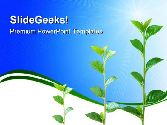 Growth Nature PowerPoint Themes And PowerPoint Slides 0611