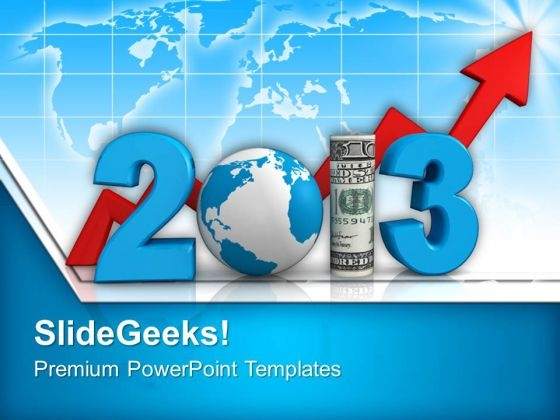 Growth Of Business In Upcoming Year Success PowerPoint Templates Ppt Backgrounds For Slides 1212