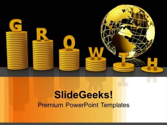 Growth Of Global Business PowerPoint Templates And PowerPoint Themes 1012