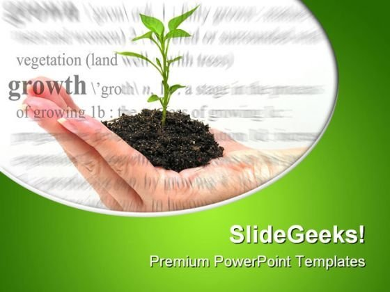 Growth Theme Environment PowerPoint Themes And PowerPoint Slides 0511