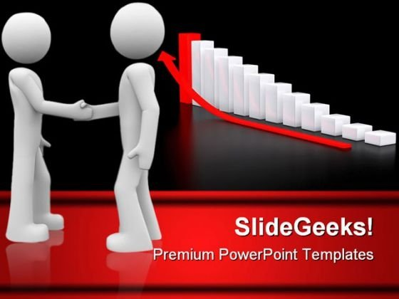 Guys Handshake Business PowerPoint Templates And PowerPoint Backgrounds 0411