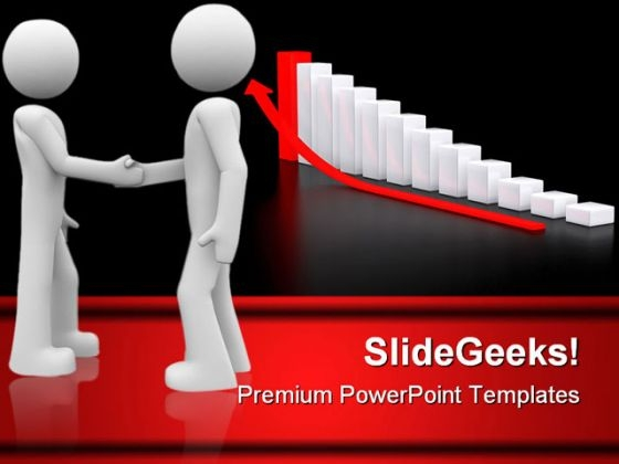 Guys Handshake Business PowerPoint Themes And PowerPoint Slides 0411