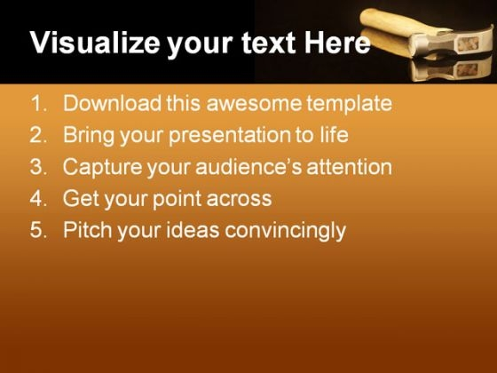 hammer_on_reflection_industrial_powerpoint_themes_and_powerpoint_slides_0311_text