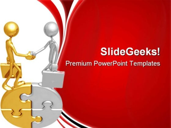 Handshake01 Business PowerPoint Themes And PowerPoint Slides 0711