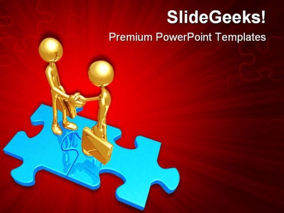 Handshake03 Business PowerPoint Themes And PowerPoint Slides 0511