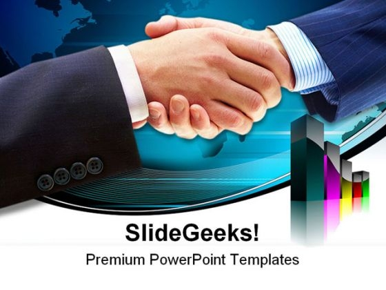 Handshake Business PowerPoint Themes And PowerPoint Slides 0611