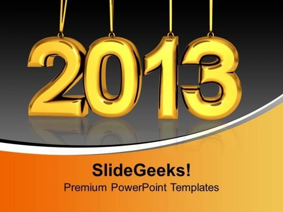 Hanging 2013 Alphabet PowerPoint Templates And PowerPoint Themes 1012