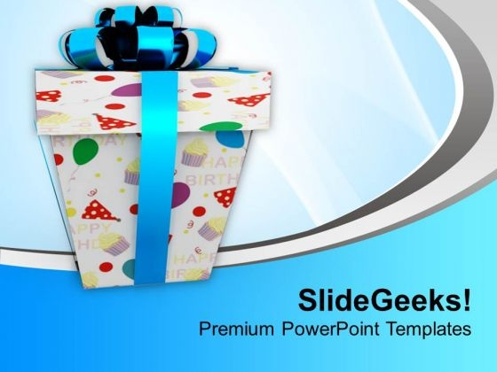 Happy Birthday Presents Events PowerPoint Templates Ppt Backgrounds For Slides 1112