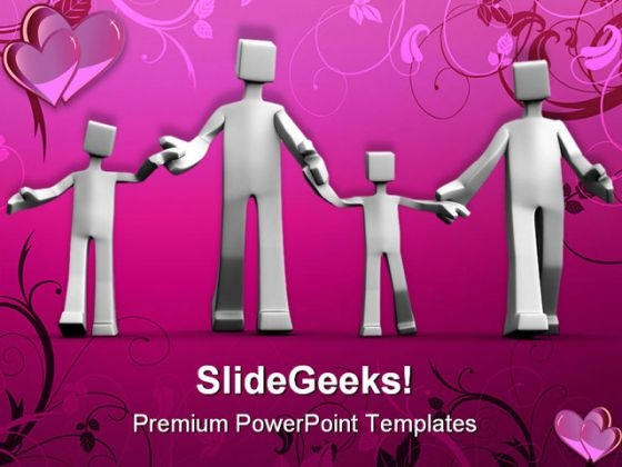 Happy Family01 People PowerPoint Templates And PowerPoint Backgrounds 0311